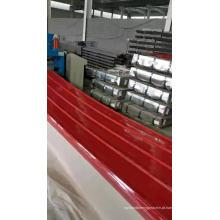 Telha de zinco corrugado Telha de aço galvanizado telha