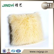 Venta al por mayor Tibetan Mongolia Fur Pillow case