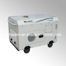 Luftgekühlter Zweizylinder Silent Typ Diesel Generator Set (DG15000SE)