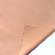 Tela de satén tejida de algodón con acabado de amoníaco líquido