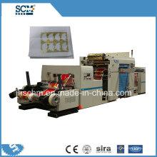 Máquina de estampagem a quente para guardanapos