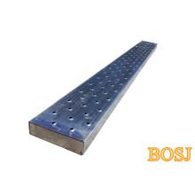 Ancho de alta calidad 250 mm Pre-Galvanized Andamio Plank para Dubai
