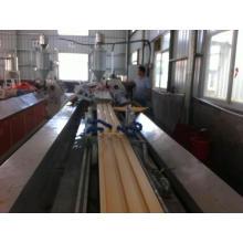 Wpc exterior faz a máquina/wpc exterior Extrusão linha/WPC Deck máquina de produção
