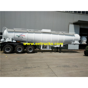 19cbm Steel H2SO4 Delivery صهريج مقطورة