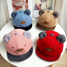 Baby winter hats custom pattern basketball cowboy cap