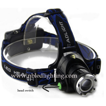 CREE Xml-T6 Zoom 18650 LED Headlamp for Outdoor (HL-15C01)