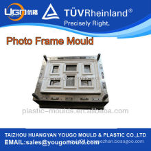 Plastic injection decorative wall photo frame moulding moulds