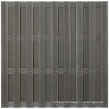 180 * 180 2014 Eco-Friendly Vente chaude en plein air en bois composite en composite WPC Clôture