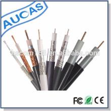 China Fertigung PVC Haut RG58 / RG59 / RG6 / RG11kabel Koaxial Preis 75ohm Auf CCTV / CATV mit CE ROHS Standard anwenden