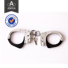 Polícia alta qualidade metal algema com ISO Standard