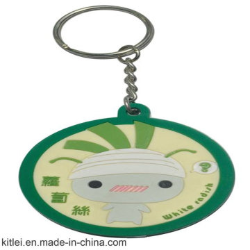 China Supplier Round Shape Keychain for Christmas Gift