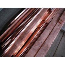Barra de cobre quente ou barra de cobre, barra plana