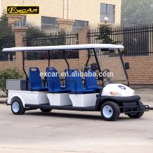China 6 seater elétrico do carro bonde do carro-patrulha do seater mini cruzador com carga