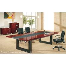Table de réunion en bois simple Table de réunion Table de conférence (HF-MH7037)