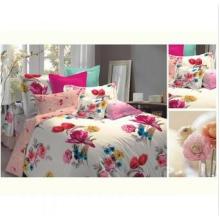 Novo design Jacquard e Print Comforter Set 121077