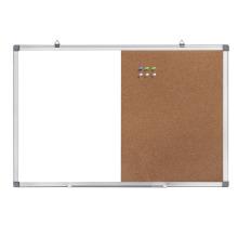 Combination White and Bulletin Cork Board 24x18