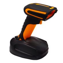 Scanner tenu dans la main durable de code barres de Bluetooth avec l'amarrage