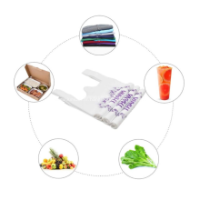 Les sacs à provisions en plastique peuvent être personnalisés