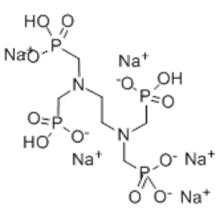 Ethylènediamine tétra (acide méthylènephosphonique), sel pentasodique CAS 7651-99-2