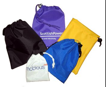 Hot Sale Nylon Drawstring Pouches