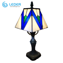 LEDER Прикроватная лампа из синего стекла