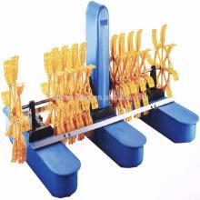 Export Qualität Paddel Rad Belüfter Indien, höhere Qualität Belüfter, Floating Wheel Aerator für Aquakultur