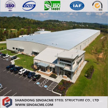 Steel Structure Workshop with Working Office