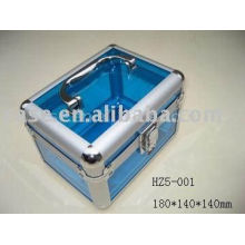 2014 new hot customized aluminum cosmetic box make up case