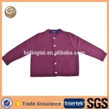 tricoté à la main laine gros pull design pour fille