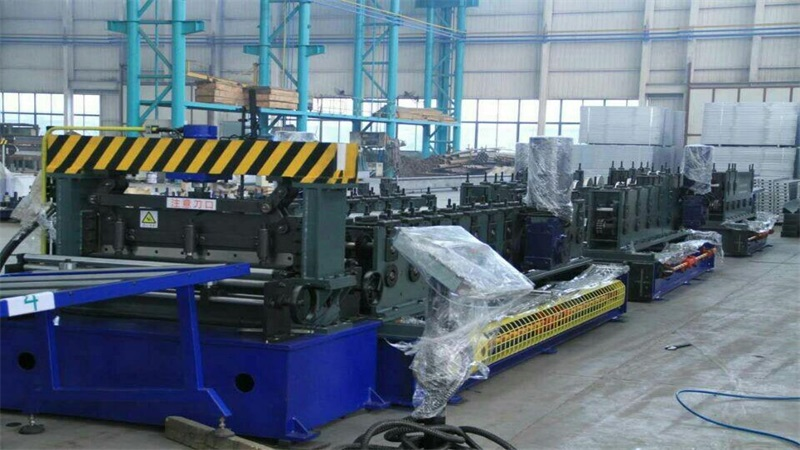 Automatic Cable Tray Roll Forming Machines