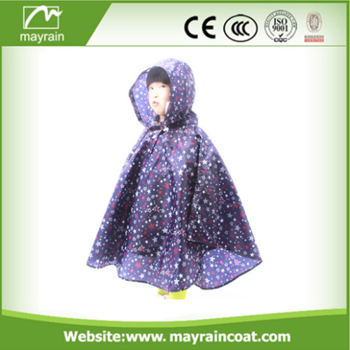 Poncho with PVC