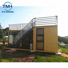 Luxury design shipping container house hotel