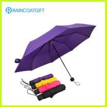 Изготовленные на заказ Выдвиженческие и рекламируя маленький карман складной зонтик