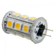360deg 18 5050 SMD G4 LED de la lámpara 12 voltios