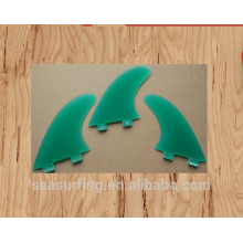New season High Quality transparent color fins FCS insert foil for sale swim fins