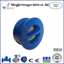 Green product cheap price wafer type double door check valve