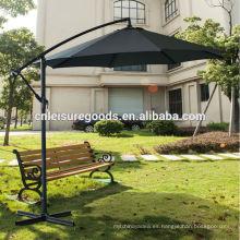 Paraguas del mercado del jardín del voladizo del metal del patio al aire libre