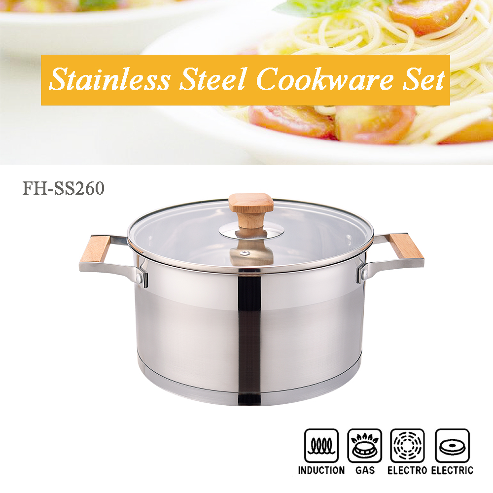 straight body cooking pot
