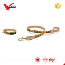 Fashion pets product dog collar and leash
