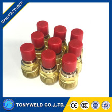Acessórios TIG 45V42 Corpo da lente de gás para tocha wp9 tig