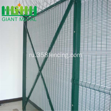 4mm+Wire+Powder+Coated+358+Security+Fence
