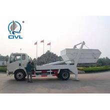CIVL Swing Arm Garbage Collection Truck SINOTRUK HOWO