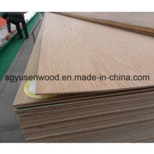 Madera contrachapada de la madera contrachapada de 2.5mm del grado comercial de los muebles de Grado E1