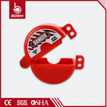 High quality ball valve GAS valve locking Cylinder Tank Lockout(BD-Q21)