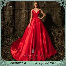 Elegante Vestidos de Quinceanera Kleider Ballkleid neuesten Design formale Abendkleid einfache Design Mädchen Kittel
