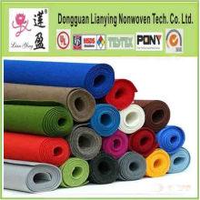 Fabriqué sur commande Matériau en fibre de polyester Feutre coloré