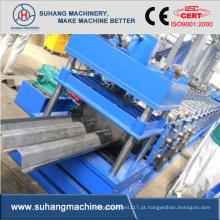 Máquina para fabricação de guarda-corpo de duas ondas de aço galvanizado de 2-4mm para serviços pesados