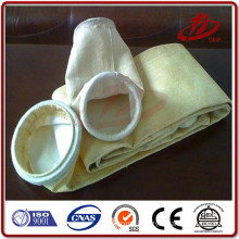 P84 pleated big dust collecting clamp snap band filter bag