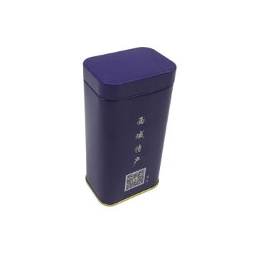 Couvercle hermétique Rectangulaire en forme de boîte en étain avec Custom Prnting Wholesale