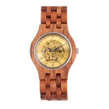 Hlw083 OEM montre en bois des hommes et des femmes montre en bambou de haute qualité montre-bracelet